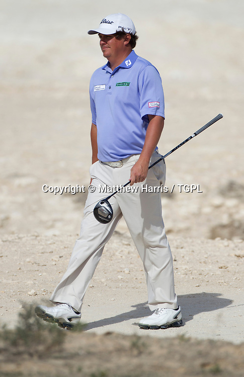 Jason DUFNER (USA) during fourth round,Commercial Bank Qatar Masters 2013,Doha GC,Doha,Qatar,26th January 2013.