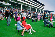 Racegoers attend the Epsom  Derby, England, United Kingdom