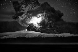 Volcano eruption, Eyjafjallajokull, Iceland - Eldgos í Eyjafjallajökli