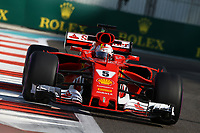 Formula 1 - Gran Premio di Abu Dhabi - Nella foto: Sebastian Vettel - Ferrari  SF70H - Ferrari