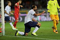 06.10.2017 - Torino -  - Qualificazioni Russia 2018   -  Italia-Macedonia  nella  foto: Giorgio Chiellini  deluso a terra
