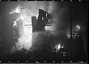 Fire at Johnson Mooney and O'Brien Mills, Dublin..03.10.1961