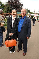 SIR TERENCE & LADY CONRAN at the 2008 Chelsea Flower Show 19th May 2008.<br />