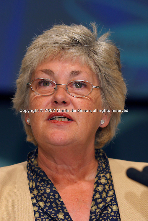 Maureen Skevington, National Union of Teachers, speaking at the TUC....© Martin Jenkinson, tel/fax 0114 258 6808 mobile 07831 189363 email martin@pressphotos.co.uk. Copyright Designs & Patents Act 1988, moral rights asserted credit required. No part of this photo to be stored, reproduced, manipulated or transmitted to third parties by any means without prior written permission