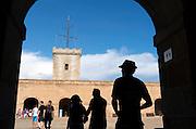 Castell de Montjuic, Barcelona, Spain.