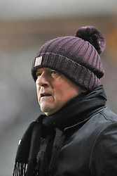 NORTHAMPTON MANAGER CHRIS WILDER MK Dons v Northampton Town, FA Cup Emirates FA Cup Third round Repay, Stadium MK, Tuesday 19th January 2016