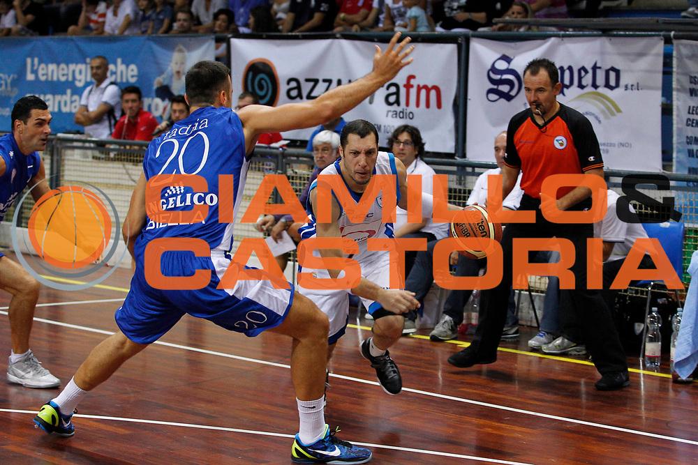 DESCRIZIONE : Novara Torneo di Novara Lega A 2011-12 Angelico Biella Bennet Cantu<br /> GIOCATORE : Nicolas Mazzarino<br /> CATEGORIA : Palleggio<br /> SQUADRA : Bennet Cantu<br /> EVENTO : Campionato Lega A 2011-2012<br /> GARA : Angelico Biella Bennet Cantu<br /> DATA : 11/09/2011<br /> SPORT : Pallacanestro<br /> AUTORE : Agenzia Ciamillo-Castoria/G.Cottini<br /> Galleria : Lega Basket A 2011-2012<br /> Fotonotizia : Novara Torneo di Novara Lega A 2011-12 Angelico Biella Bennet Cantu<br /> Predefinita :