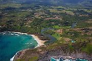 Kalihiwai Beach and valley, Kauai, Hawaii