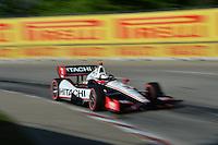 Helio Castroneves, Raceway at Belle Isle Park, Detroit, MI USA 6/1/2014