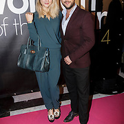 NLD/Amsterdam/20141215- Glamour Woman of the Year 2014, Caroline Spoor en partner Jon Karthaus