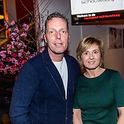 NLD/Rijswijk/20170123 - Premiere Boeing Boeing, Rob Geus en partner Suzanne Ozek