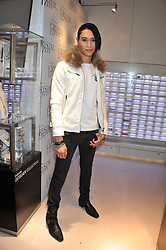 NAT WELLER at the unveiling of the Helena Christensen and Swarovski Crystallized Unsigned Model search winners held at Swarovski Crystallized, 24 Great Marlborough Street, London on 26th January 2012.
