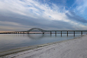 Fire Island Inlet Bridge from Captree Beach