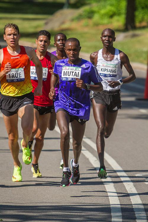 UAE Healthy Kidney 10K, Geoffrey Mutai in lead pack