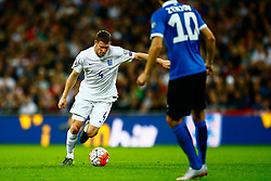 James Milner of England lines up a shot - Mandatory byline: Jason Brown/JMP - 07966 386802 - 09/10/2015- FOOTBALL - Wembley Stadium - London, England - England v Estonia - Euro 2016 Qualifying - Group E