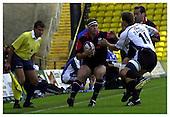 Saracens v Bath. 8-9-2002. Season 2002-2003