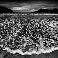 Tide, Laig bay, Isle of Eigg