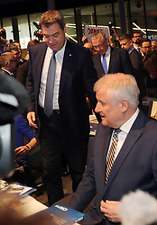 19.01.2019, Kleine Olympiahalle, Muenchen, GER, CSU Parteitag in München, im Bild Markus Söder und Horst Seehofer // during the CSU party congress at the Kleine Olympiahalle in Muenchen, Germany on 2019/01/19. EXPA Pictures © 2019, PhotoCredit: EXPA/ SM<br /> <br /> *****ATTENTION - OUT of GER*****