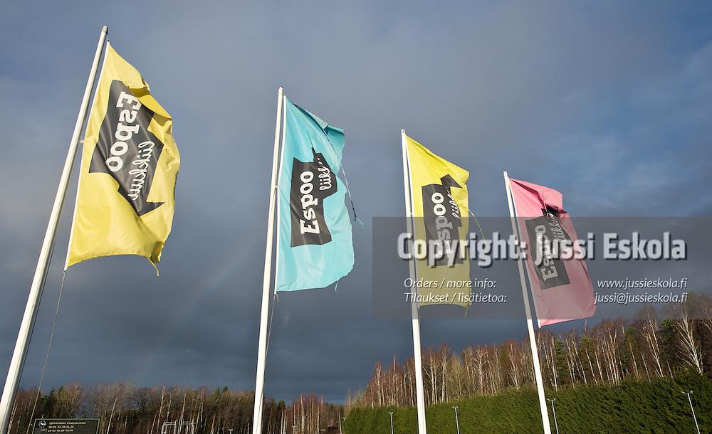 Leppävaaran urheilupuisto. 8.11.2013. Photo: Jussi Eskola