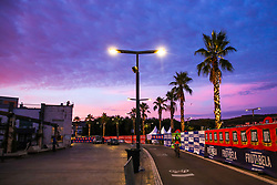 Sunrise on the avenue in downtown Koper at Ironman 70.3 Slovenian Istra 2019, on September 22, 2019 in Koper / Capodistria, Slovenia. Photo by Matic Klansek Velej / Sportida
