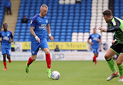 Marcus Maddison of Peterborough United takes on the Plymouth Argyle defence - Mandatory by-line: Joe Dent/JMP - 05/08/2017 - FOOTBALL - ABAX Stadium - Peterborough, England - Peterborough United v Plymouth Argyle - Sky Bet League One