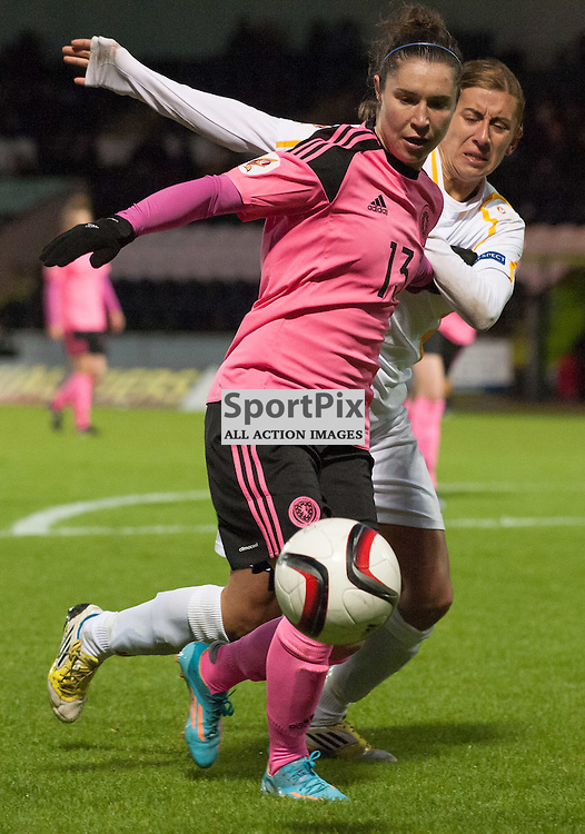 Jane Ross (Scotland &amp; Manchester City)<br /> <br /> UEFA Women's European Championship Qualifying - Group 1 <br /> Scotland v FYR Macedonia<br /> St Mirren Park, Paisley<br /> Sunday 29 November 2015<br /> <br /> &copy; Russel Hutcheson | SportPix 2015