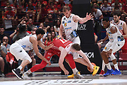Arturas Gudaitis, Luca Lechtaler<br /> EA7 Emporio Armani Olimpia Milano - Dolomiti Energia Trentino<br /> Playoff - Finale - Gara 1<br /> LegaBasket Serie A 2017/2018<br /> Milano, 05/06/2018<br /> Foto M.Ceretti / Ciamillo-Castoria