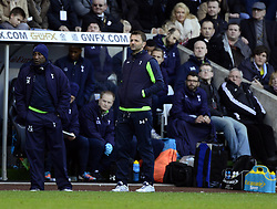 Tottenham Hotspur Manager, Tim Sherwood - Photo mandatory by-line: Joe Meredith/JMP - Tel: Mobile: 07966 386802 19/01/2014 - SPORT - FOOTBALL - Liberty Stadium - Swansea - Swansea City v Tottenham Hotspur - Barclays Premier League