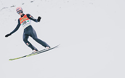 16.02.2020, Kulm, Bad Mitterndorf, AUT, FIS Ski Flug Weltcup, Kulm, Herren, im Bild Karl Geiger (GER) // Karl Geiger of Germany during the men's FIS Ski Flying World Cup at the Kulm in Bad Mitterndorf, Austria on 2020/02/16. EXPA Pictures © 2020, PhotoCredit: EXPA/ JFK