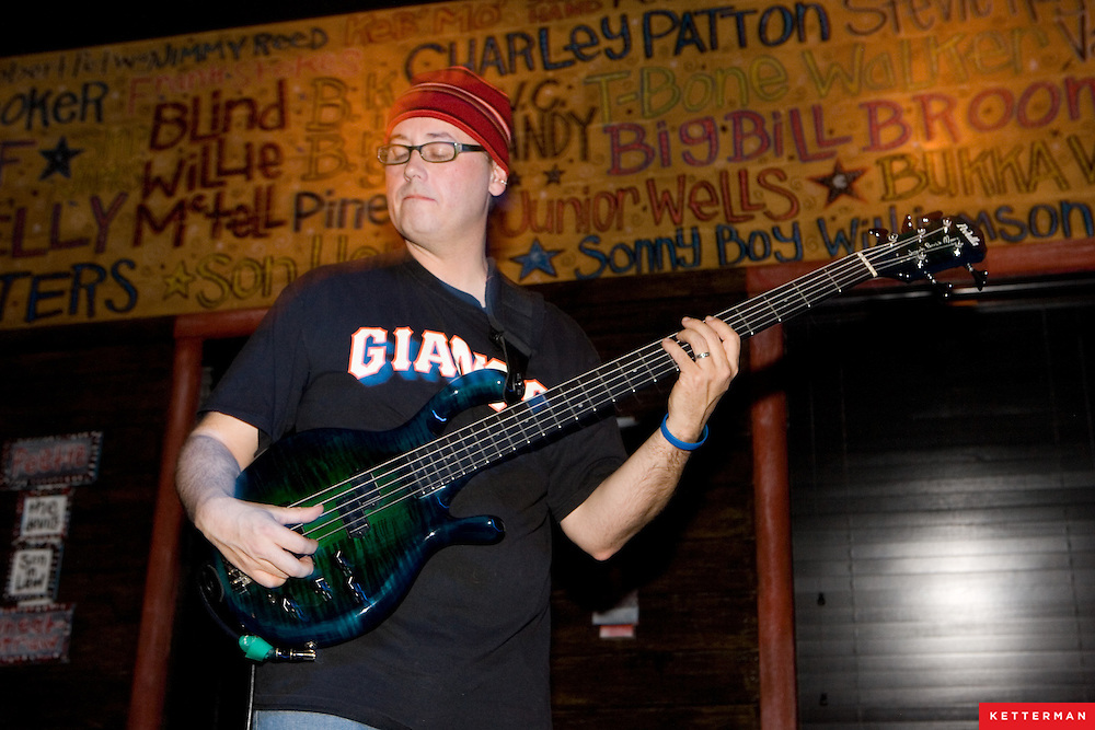 Chris Duarte Group performs at the Mojo Kitchen in Jacksonville Beach, FL.