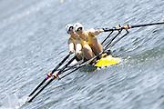2006, U23 Rowing Championships,Hazewinkel, BELGIUM Saturday, 22.07.2006. AUS BW2X Bow Stephanie MONSON AND ANNA McREA, Photo  Peter Spurrier/Intersport Images email images@intersport-images.com..[Mandatory Credit Peter Spurrier/ Intersport Images] Rowing Course, Bloso, Hazewinkel. BELGUIM