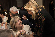 CATHERINE GUINNESS; PRINCESS CHANTAL OF HANOVER, Nicky Haslam hosts dinner at  Gigi's for Leslie Caron. 22 Woodstock St. London. W1C 2AR. 25 March 2015