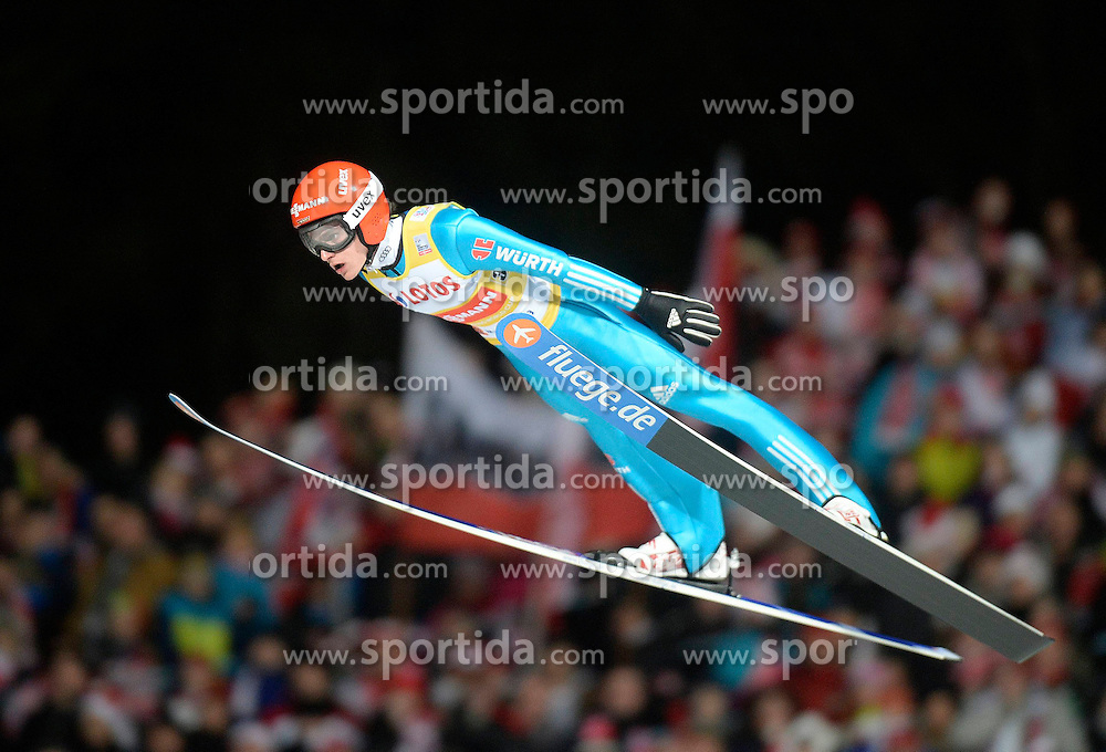 17.01.2015, Wielka Krokiew, Zakopane, POL, FIS Weltcup Ski Sprung, Zakopane, Herren, Teamspringen, im Bild Richard Freitag // during mens Large Hill Team competition of FIS Ski Jumping world cup at the Wielka Krokiew in Zakopane, Poland on 2015/01/17. EXPA Pictures &copy; 2015, PhotoCredit: EXPA/ Newspix/ Irek Dorozanski<br /> <br /> *****ATTENTION - for AUT, SLO, CRO, SRB, BIH, MAZ, TUR, SUI, SWE only*****