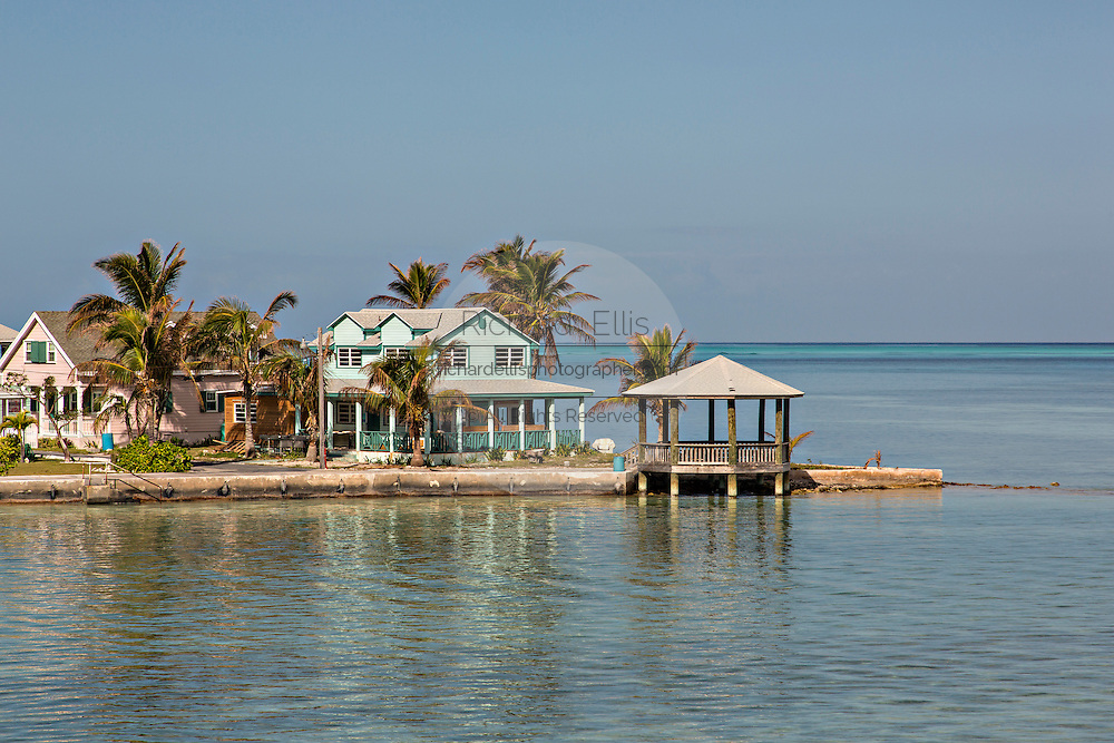 Homes at Spanish Wells, St Georges Cay, Eleuthera, The Bahamas.
