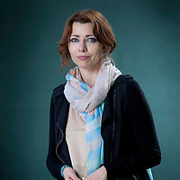 Elif Shafak, the Turkish author, columnist, speaker and academic, at the Edinburgh International Book Festival 2015.<br /> Edinburgh. 30th August 2015<br /> <br /> Photograph by Gary Doak/Writer Pictures<br /> <br /> WORLD RIGHTS