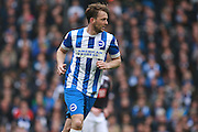 Brighton central midfielder Dale Stephens during the Sky Bet Championship match between Brighton and Hove Albion and Derby County at the American Express Community Stadium, Brighton and Hove, England on 2 May 2016. Photo by Bennett Dean.