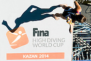 FINA High Diving World Cup 2014<br /> Kazan Tatartsan Russsia RUS Aug. 8 to 10 2014<br /> Kazanka River  Day00 - Aug.7 <br /> Photo G. Scala/Deepbluemedia