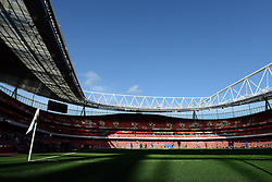 A general view of the Emirates Stadium ahead of the Barclays Premier League game against Everton - Photo mandatory by-line: Dougie Allward/JMP - Mobile: 07966 386802 - 01/03/2015 - SPORT - football - London - Emirates Stadium - Arsenal v Everton - Barclays Premier League