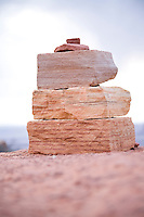 Cairn in Canyonlands National Park near Moab, Utah.