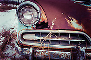 Saskatchewan Canada, Vintage Studebaker part of grill