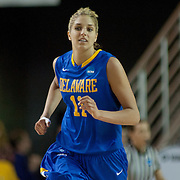 Delaware Forward Elena Delle Donne (11) in the first half of a 2013 Round Two Women's NCAA tournament game against No. 3 North Carolina Tuesday, March 26, 2013, at the Bob Carpenter Center in Newark Delaware.