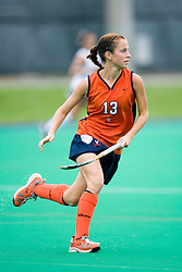 Virginia Cavaliers F Taylor Swezey (13)..The #10 ranked Virginia Cavaliers fell to the #7 ranked Penn State Nittany Lions 3-1 at the University Hall Turf Field in Charlottesville, VA on August 26, 2007.