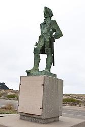 Don Gaspar de Portola statue, Pacifica, California, United States of America