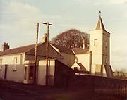 Old Dublin Amature Photos January 1984 WITH, Swiss Cottage, St Annes Clontarf, Malahide Coast Road, St Douglas Ch, Malahide, Black Church, Phone Box,