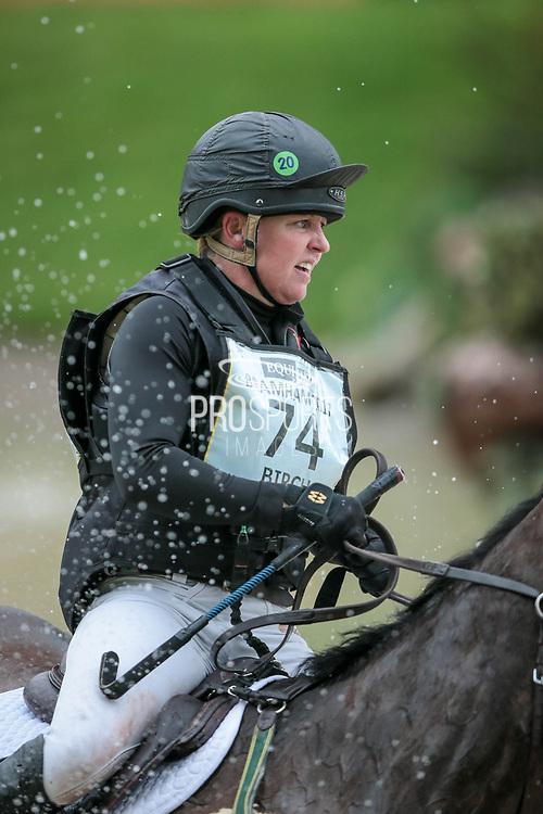 HUNTER VALLEY II ridden by Sammi Birch (AUS) during the Equitrek CCI*** cross country event on day three of Bramham International Horse Trials 2017 at Bramham Park, Bramham, United Kingdom on 11 June 2017. Photo by Mark P Doherty.
