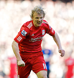 28.01.2012, Anfield, Liverpool, ENG, FA CUP, Liverpool FC vs Manchester United, im Bild Liverpool's Dirk Kuyt in action against Manchester United during the football match of the english FA CUP, between Liverpool FC and Manchester United, at the Anfield Stadium, Liverpool, England on 2012/01/28.<br /> <br /> ***NETHERLANDS ONLY***