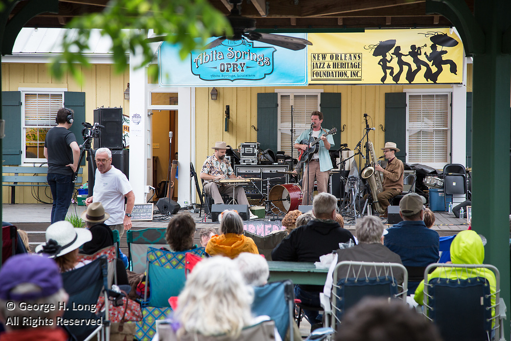 Abita Springs Busker Festival; Abita Springs, Louisiana on April 23, 2017