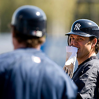 New York Yankees Doug Mientkiewicz during Major League Baseball's spring training at Legends Field on Monday, February 20, 2007 in Tampa, Florida. Photo/Scott Audette