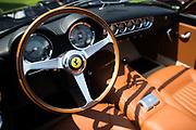 August 16-20, 2017: Ferrari steering wheel detail