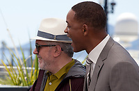 President of the Jury Pedro Almodóvar, actor Will Smith at the Members of the Jury photocall at the 70th Cannes Film Festival Wednesday May 17th 2017, Cannes, France. Photo credit: Doreen Kennedy